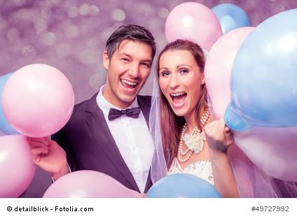 Danksagungskarten zur Hochzeit mit lustigen Sprüchen gestalten